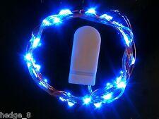 30 LED AZUL Batería CW Cadena De Luces - 3m largo -bodas, Centros mesa, eventos