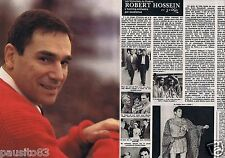 Coupure de presse Clipping 1981 Robert Hossein  (4 pages) 1