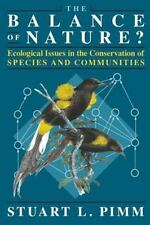 The Balance of Nature?: Ecological Issues in the Conservation of Speci-ExLibrary