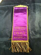 IOOF Odd Fellows John Brady Encampment 303 Montgomery PA Ribbon Pinback