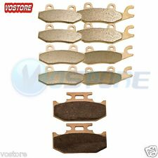 F&R&Parking Sintered Brake Pads for 2008-2013 2009 Yamaha YXR 700 Rhino 700 4x4