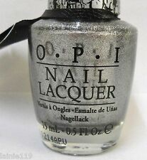 OPI Nail Polish Laquer SILVER SHATTER, NLE62, Dries to Crackle Finish, New