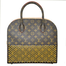 Louis Vuitton & Christian Louboutin Monogram Studded Handbag