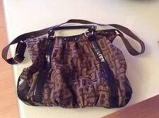 BENETTON-Damentasche dunkelbraun