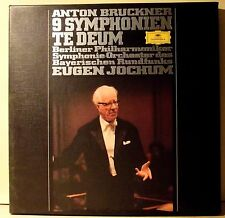 11 LP BOX SET-ANTON BRUCKER 9 SYMPHONIEN TE DEUM-MINT