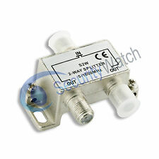 2 Way Passive TV Saorview Freeview UPC Virgin Splitter CATV 5-1000MHz