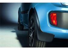 Paraspruzzi rigidi neri anteriori e posteriori per Suzuki Ignis