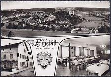 Tolle AK Gruß aus Eichstätt Gasthof zum Trompeter, Altmühltal, Panorama, gel.