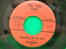 Bill Reeder Memories Of The Past 1961 45 Voll Para Records 103  Paragould AR