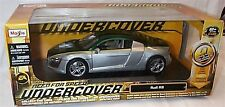 AUDI R8 verde scuro e argento NEED FOR SPEED UNDERCOVER 1-18 scala NUOVO IN SCATOLA