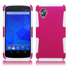 LG Nexus 5 Google Phone D820 Hybrid Mesh Case Skin Cover