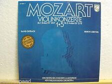 DAVID OISTRACH * HENRYK SZERYNG * Mozart Violinkonzerte 1+5 * Philips 29 689-7 *