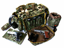 "NEW 20"" Woodland CAMO NATO Tactical ® Gun Pistol Range shoot hunting 1000D Nylon"