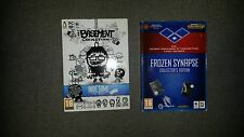 2 giochi pc Frozen Synapse + the basement collection INDIE COLLECTOR EDITION RAR