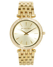 Michael Kors Ladies Darci Gold Tone Stainless Steel Designer Watch MK3191