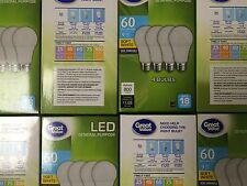 96 PACK LED 60W = 9W Soft White 60 Watt Equivalent A19 2700K SweetHome best pick