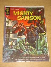 MIGHTY SAMSON #10 NM (9.4) GOLD KEY COMICS JUNE 1967
