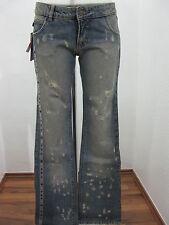 Just Cavalli Damen Jeans Damenjeans Blau Boot-Cut Baumwolle Gr. 27
