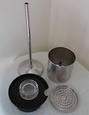 Corning Ware 9 Cup Stove Top Coffee Pot Percolator Parts (Basket Pump & Cover)