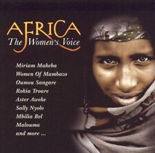 Africa: The Women's Voice by Various Artists (CD, Mar-2005, Manteca)