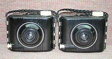Nice Pair of Vintage 1952 Bakelite Kodak Baby Brownie Special Cameras