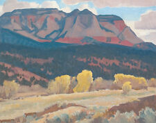 Dixon Maynard Sun Gleam And Shadow Canvas 16 x 20  #7163