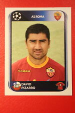 PANINI CHAMPIONS LEAGUE 2010/11 # 304 AS ROMA PIZARRO BLACK BACK MINT!