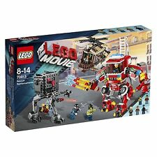 70813 RESCUE REINFORCEMENTS lego NEW movie SEALED misb legos set fire truck mech