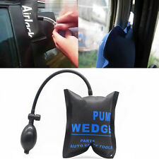 Car Black Pump Wedge Alignment Inflatable Shim Air Pad Bag Open Door lock Tool