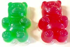 Giant Gummy Bear Mold, 3 Pack of Large Gummy Bear Molds and Recipe, Make Big and