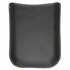 BlackBerry Synthetic Leather Pocket Pouch For Bold 8900 9780 HDW-18962-001 Black