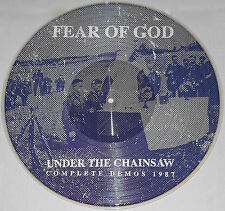 Fear Of God - Under The Chainsaw Pic Disc Vinyl Gatefold / New (2014) Grindcore