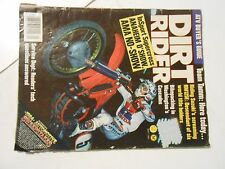 MAY 1984 DIRT RIDER MAGAZINE,CAN-AM 175ASE,SUZUKI RM125,PARKER 400,PISMO,HANNAH