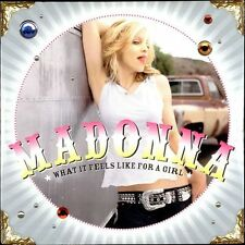 MADONNA - WHAT IT FEELS LIKE FOR A GIRL - CD SINGLE GERMANY 2001 - 3 TRACKS