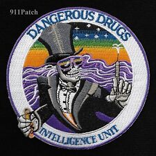 DANGEROUS DRUGS ENFORCEMENT ADMINISTRATION DEA INTELLIGENCE UNIT POLICE PATCH