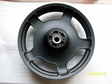 Harley front wheel-street glide-road glide DENIM BLACK POWDER COAT-2009-2013