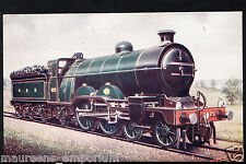 Railway Transport Postcard - Great Northern Railway - 4-4-2 Express Train RS771