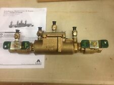"""Watts Ames Fire & Waterworks Double Check Valve Assembly 1"""" Lead Free LF2000BM1"""