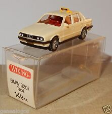 MICRO WIKING HO 1/87 BMW 320 I TAXI CREME IN BOX