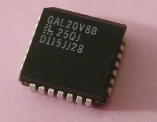 2x GAL20V8D-25QJ Generic Array Logic, Lattice