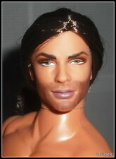 NUDE KEN MATTEL ARTICULATED EXOTIC JUDE DEVERAUX THE RAIDER DOLL FOR OOAK