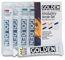 Golden Acrylic : Heavy Body Introductory Set 6 x 22ml tubes - Introduction