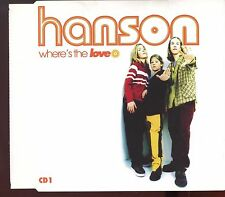 Hanson / Where's The Love - CD1