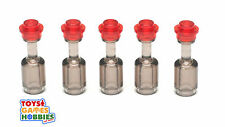 *NEW* LEGO Set of 5 Bottles with Caps- Potions Wine Harry Potter Castle Food Lot