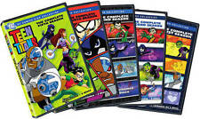 THE TEEN TITANS - COMPLETE SEASON 1 2 3 4 5  -  DVD - UK Compatible -  sealed