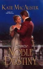 NOBLE DESTINY BY KATIE MACALISTER PAPERBACK ROMANCE HISTORICAL