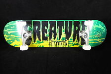 Creature Skateboard SAF Titanium Trucks Abec 9 Grizzly Complete Stained Team 8.0