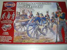 Victrix VX0010-british napoléoniennes pied artillerie en plastique 28mm figures