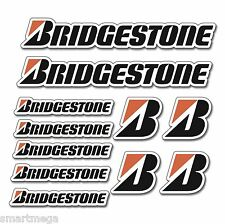 BRIDGESTONE STICKER SET MOTORBIKE MOTORCYCLE MOTORSPORT CAR MOTO GP TT DECALS