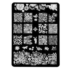 Design Multi Pattern Nail Art Image Stamp Stamping Plates Manicure Template N3